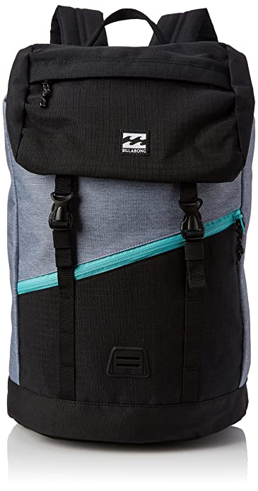 Billabong F5BP07, Mochila Hombre, Multicolor (Black/Mint), 17x26x51 cm: Amazon.es: Zapatos y complementos
