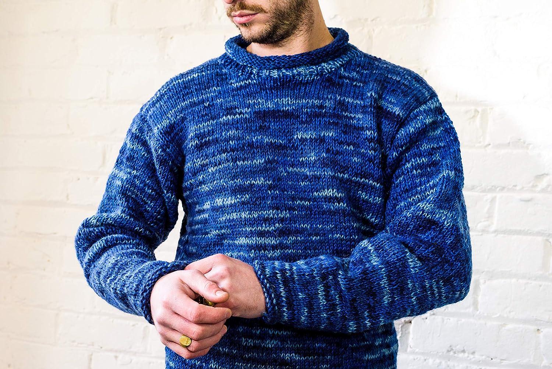 Himal Yak Wool Roll-Neck Jumper 100/% Tibetan Yak Wool Thick and Warm Turtleneck Sweater