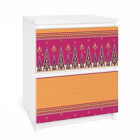 Apalis Vinilo Adhesivo para Muebles IKEA - Malm Dresser 2xDrawers ...