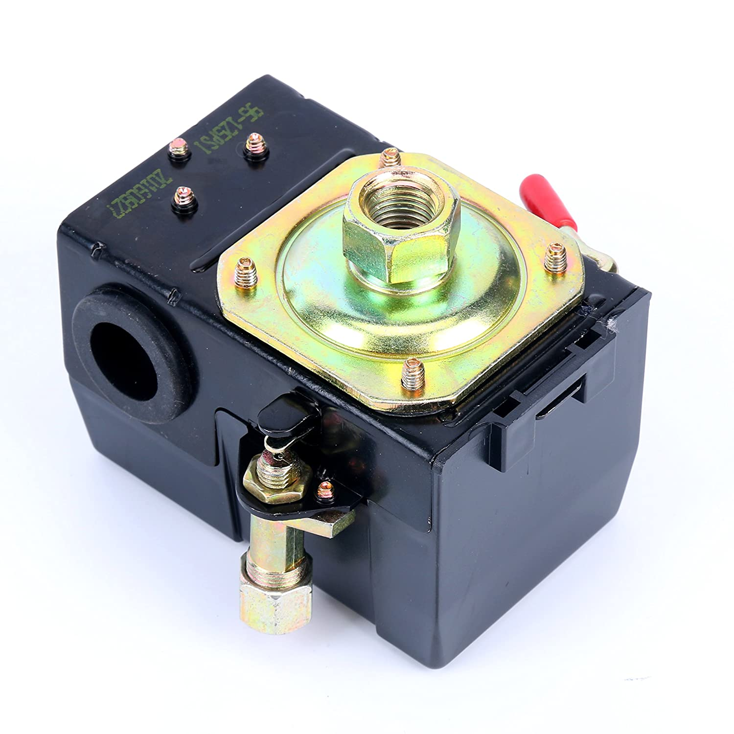 91o9igL6G1L._SL1500_ lefoo quality air compressor pressure switch control valve 95 125 furnas pressure switch diagram at gsmx.co