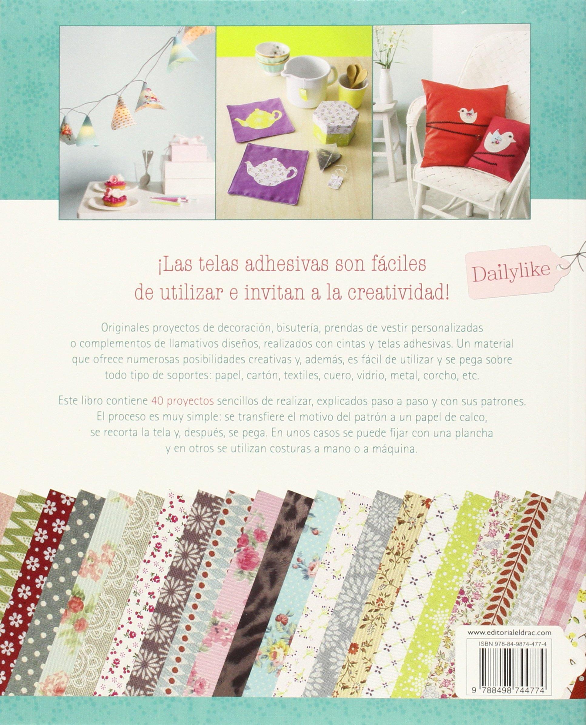 Ideas creativas con cintas y telas adhesivas: Margault Chavaroche: 9788498744774: Amazon.com: Books