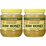 YS Organic Bee Farms Honey (Raw) 14 oz. Pack of 2