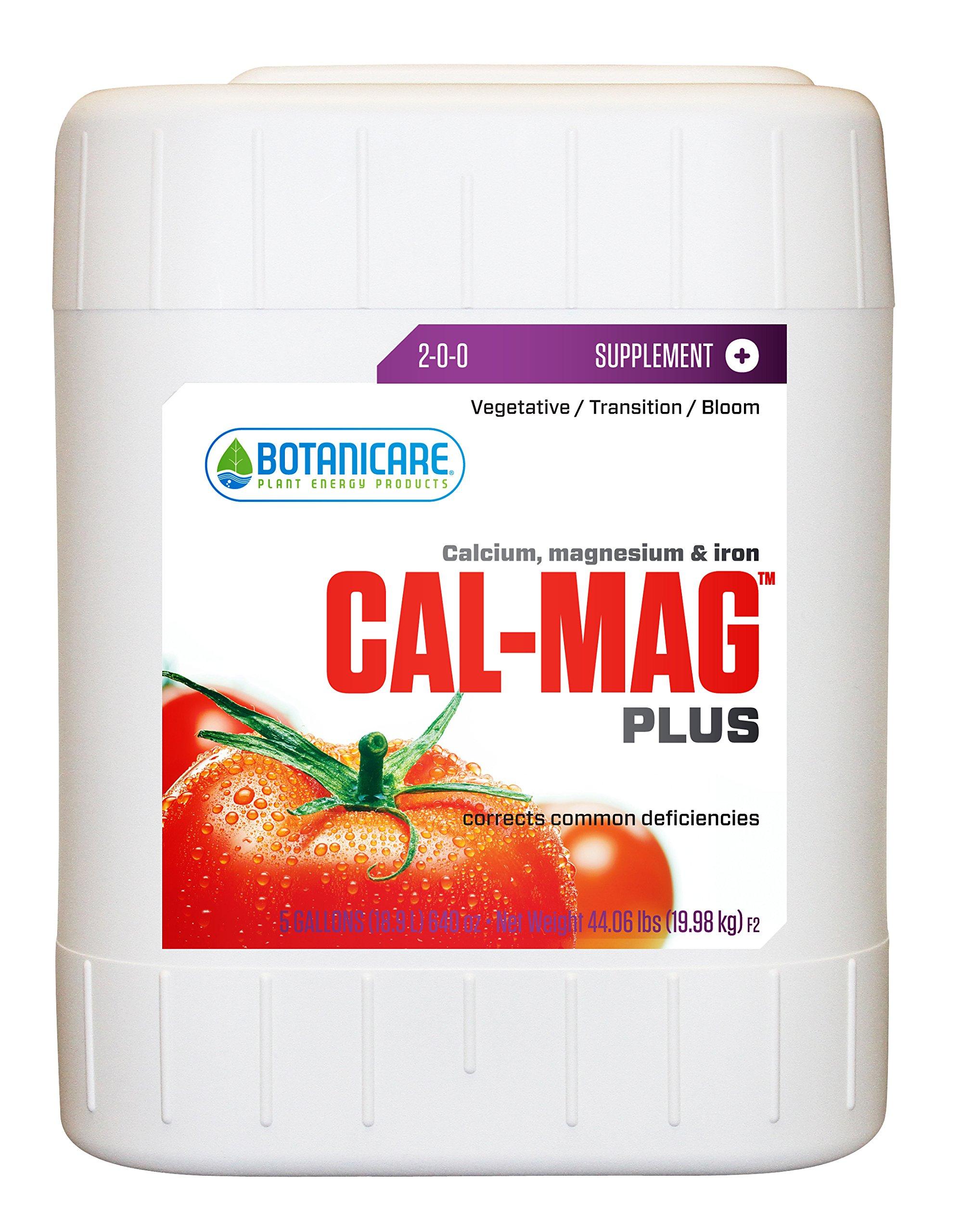 Botanicare HGC732125 Cal-Mag Plus Calcium, Magnesium & Iron Plant Supplement 5-Gallon