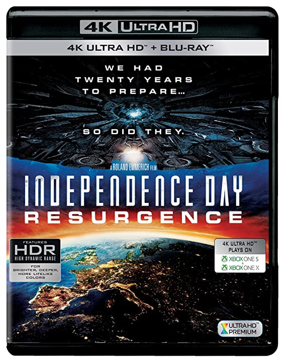 Independence Day: Resurgence (4K UHD & HD) (2-Disc)