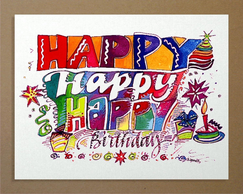 С днем рождения прикольные открытки на английском языке