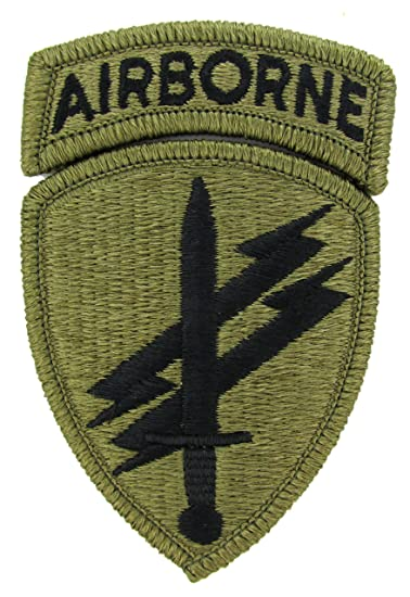 Amazon. Com: civil affairs/psyops acu patch with airborne tab: clothing.