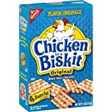 Nabisco Chicken in a Biskit Baked Snack Crackers, Original, 7.5 Ounce Box (Pack of 6)