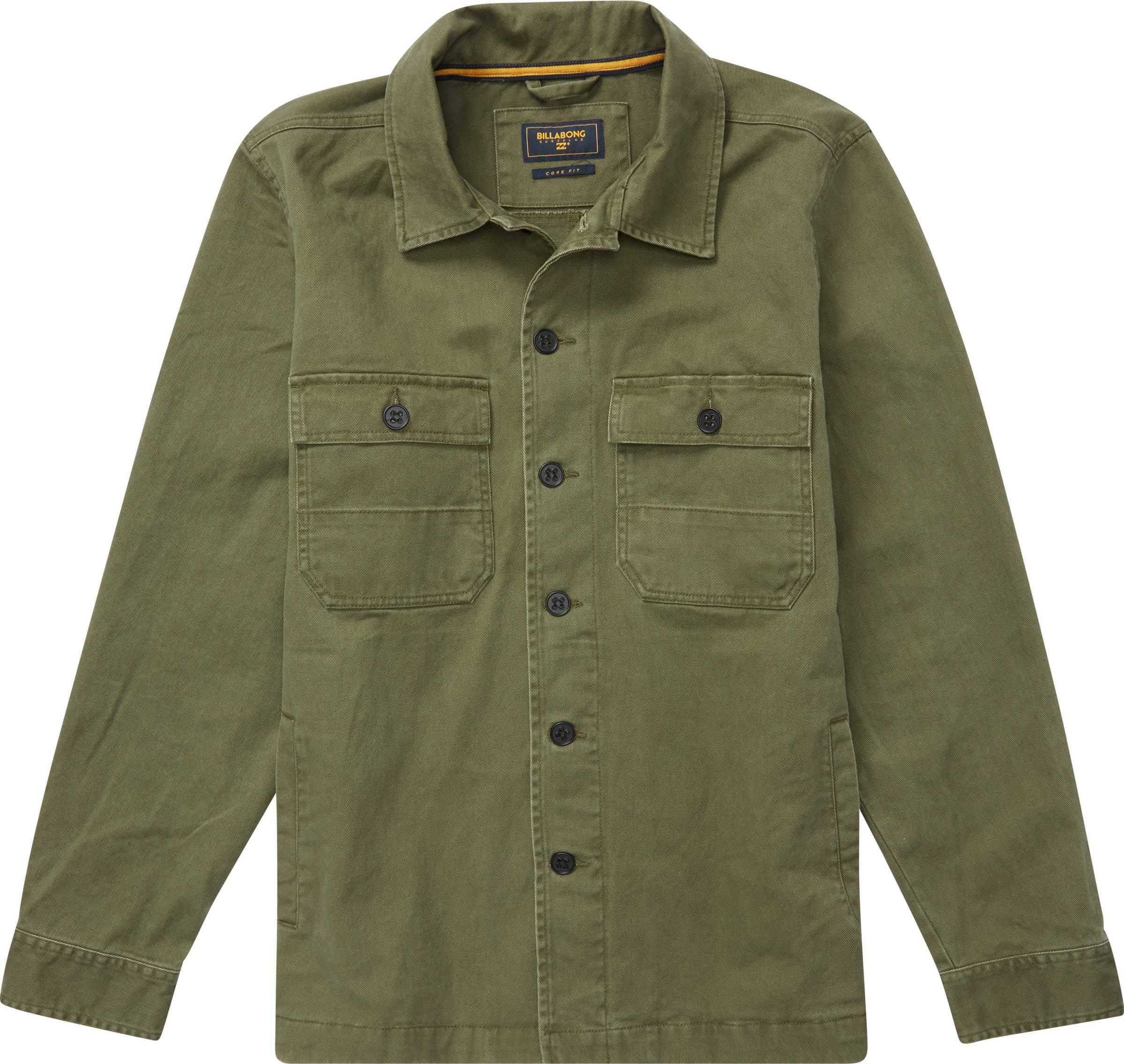 Billabong Men's Collins Jacket Military Large by Billabong