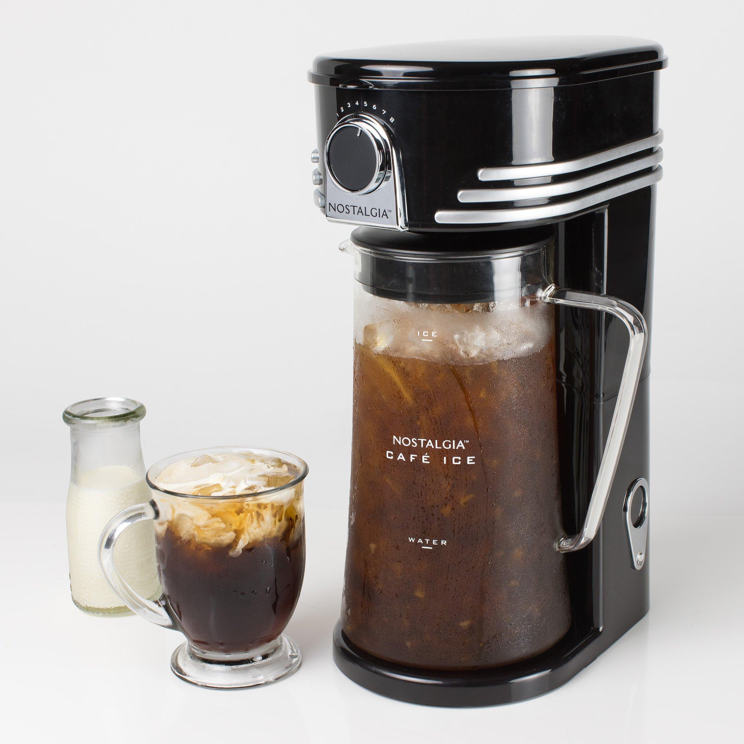 Nostalgia CI3BK Café Ice 3-Quart Iced Coffee & Tea Brewing System by Nostalgia (Image #4)