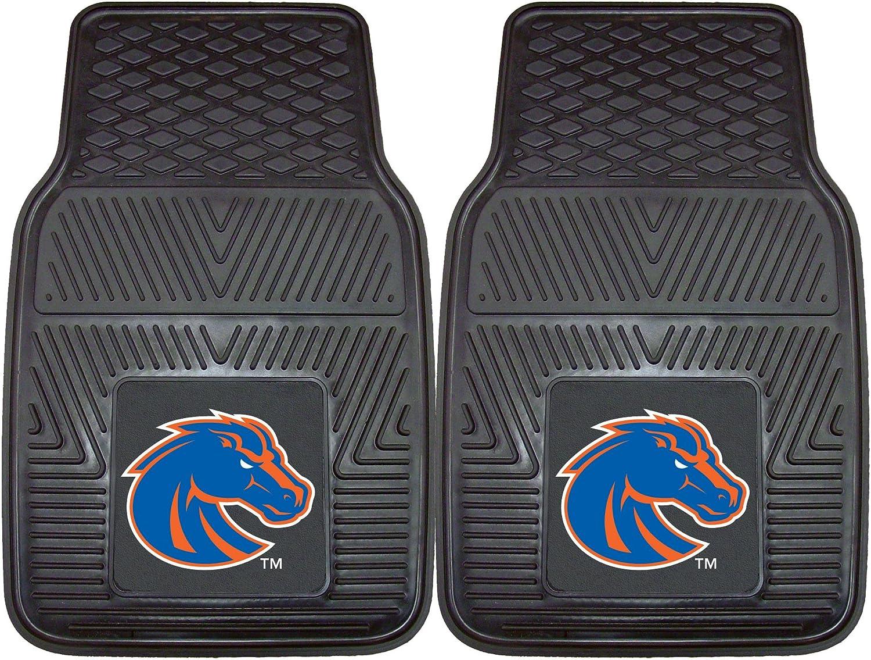 Amazon Com Fanmats Ncaa Boise State University Broncos Vinyl Heavy Duty Car Mat Sports Outdoors