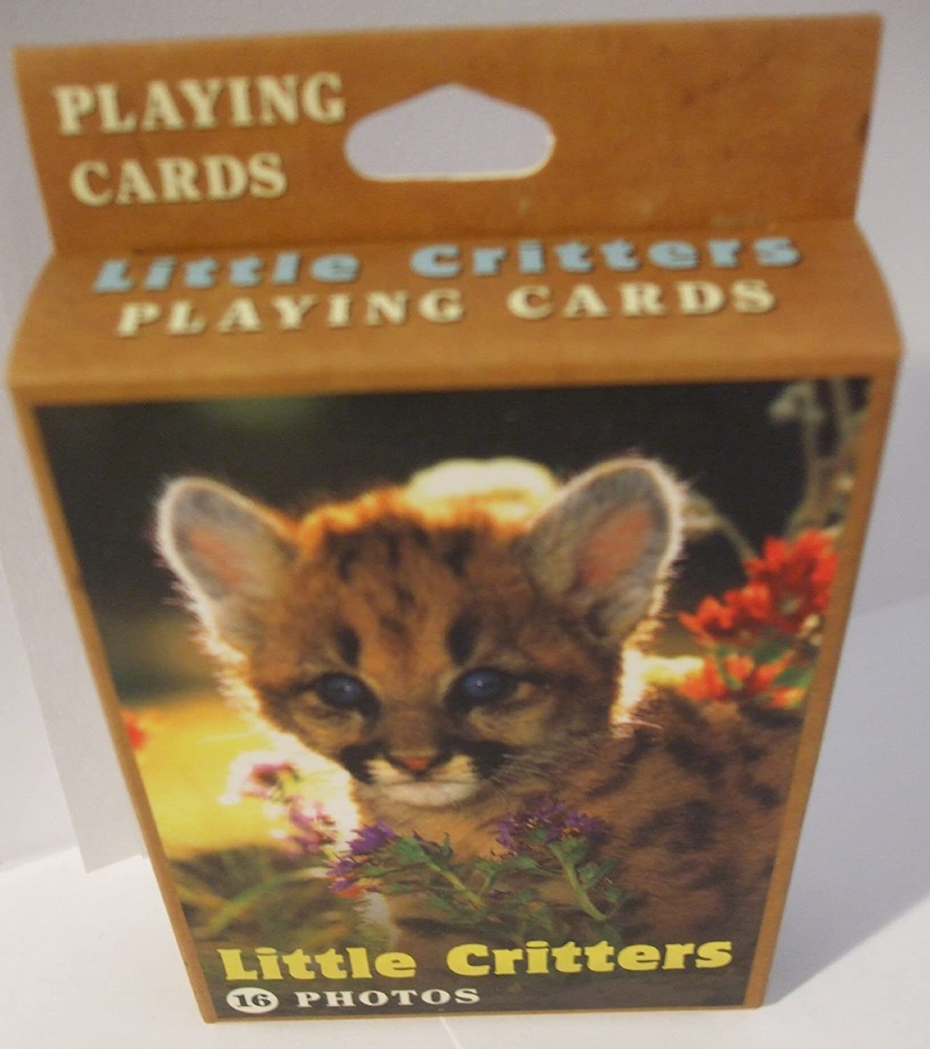 ONE DECK Impact LITTLE CRITTERS PLAYING CARDS 16 DIFFERENT PHOTOS