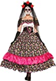 Forum Novelties Women's Day Of Dead Spanish Lady Costume