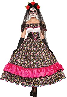 Amazon.com: Smiffys Mens Day of The Dead Señor Bones ...