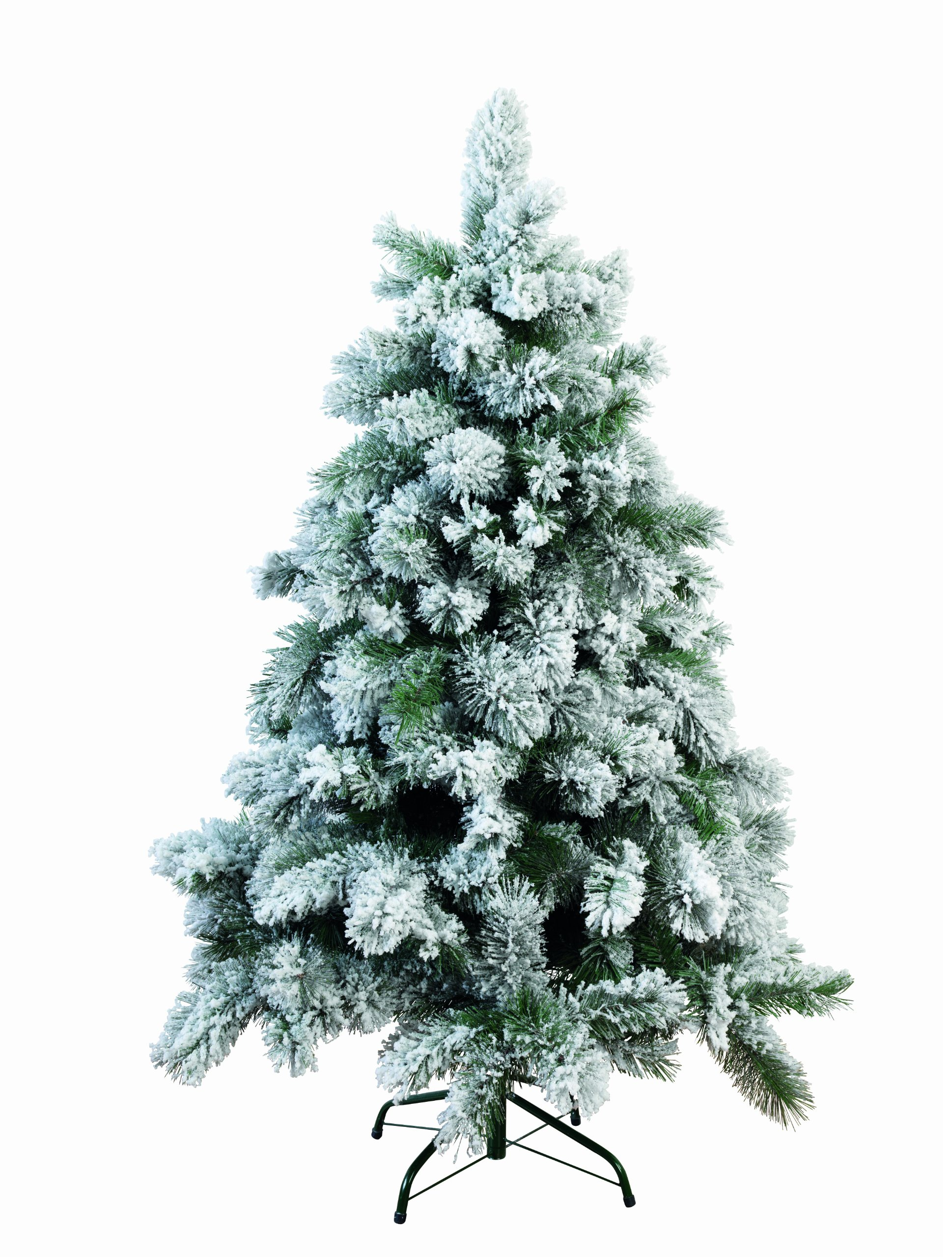 Kaemingk Snowy Vancouver Mixed Pine Artificial Christmas Tree in Green (7ft (210cm) - 800 tips)