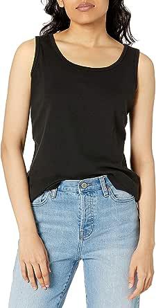 Hanes Womens O9341 Mini-Ribbed Cotton Tank Sleeveless Shirt