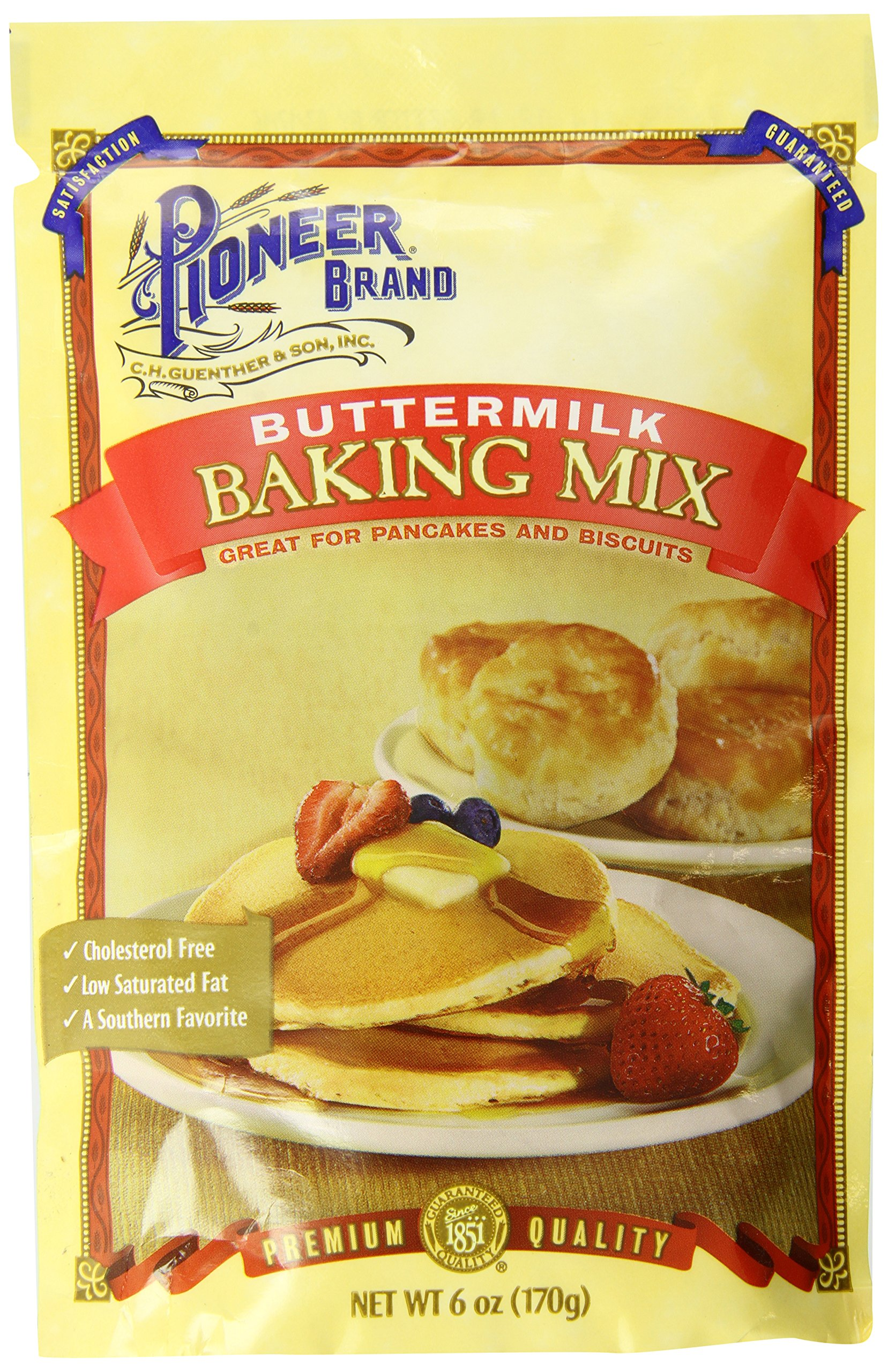 Pioneer Brand Buttermilk Biscuit and Baking Mix, 6 Ounce (Pack of 12)