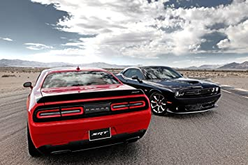 Amazoncom Dodge Challenger SRT Supercharged with HEMI Hellcat