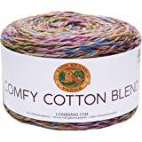 Lion Brand Comfy Cotton Blend Yarn-Stained Glass