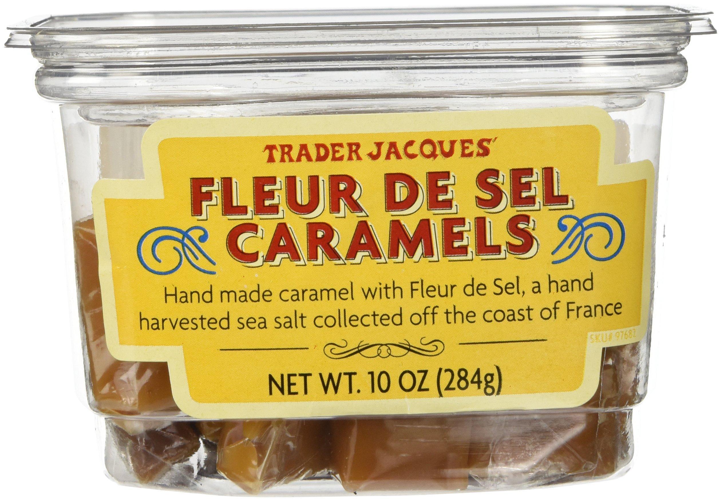 Amazon Com Trader Joe S Fleur De Sel Caramels Candy Hand Made