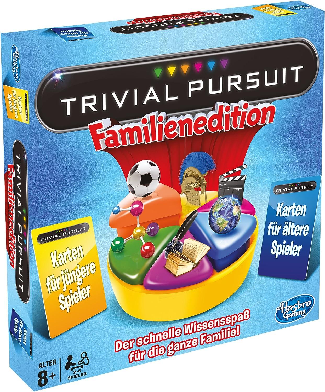 Hasbro - Trivial Pursuit Edición Familia, Juego de Tablero ...