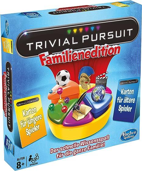 Hasbro - Trivial Pursuit Edición Familia, Juego de Tablero (versión en alemán): Amazon.es: Juguetes y juegos