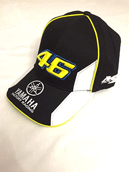 Gorra Yamaha Valentino Rossi VR46 Official Cap Team Moto GP negro ...