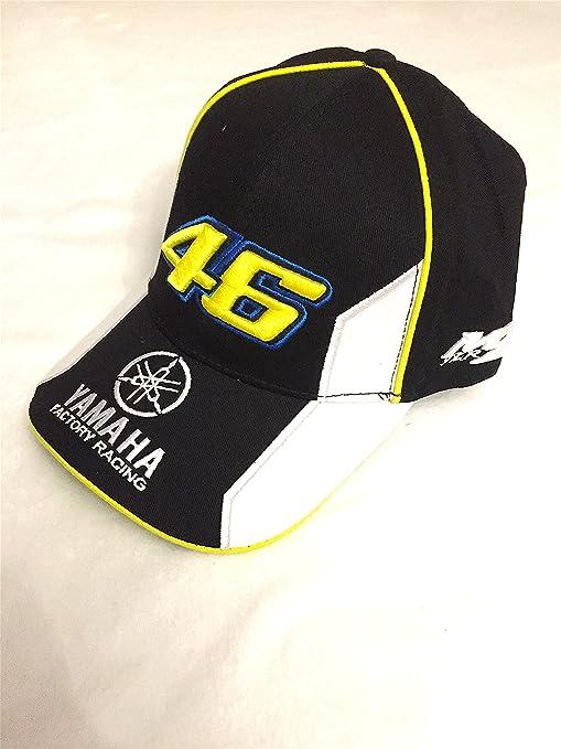 Gorra Yamaha Valentino Rossi VR46 Official Cap Team Moto GP negro