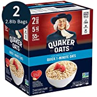 Deals on 2-Pack Quaker Quick 1-Minute Oatmeal 40oz 55 Servings