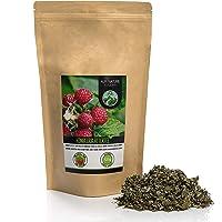 Frambozenbladthee (125g), frambozenblad gesneden, zacht gedroogd, 100% puur en natuurlijk voor de bereiding van thee…