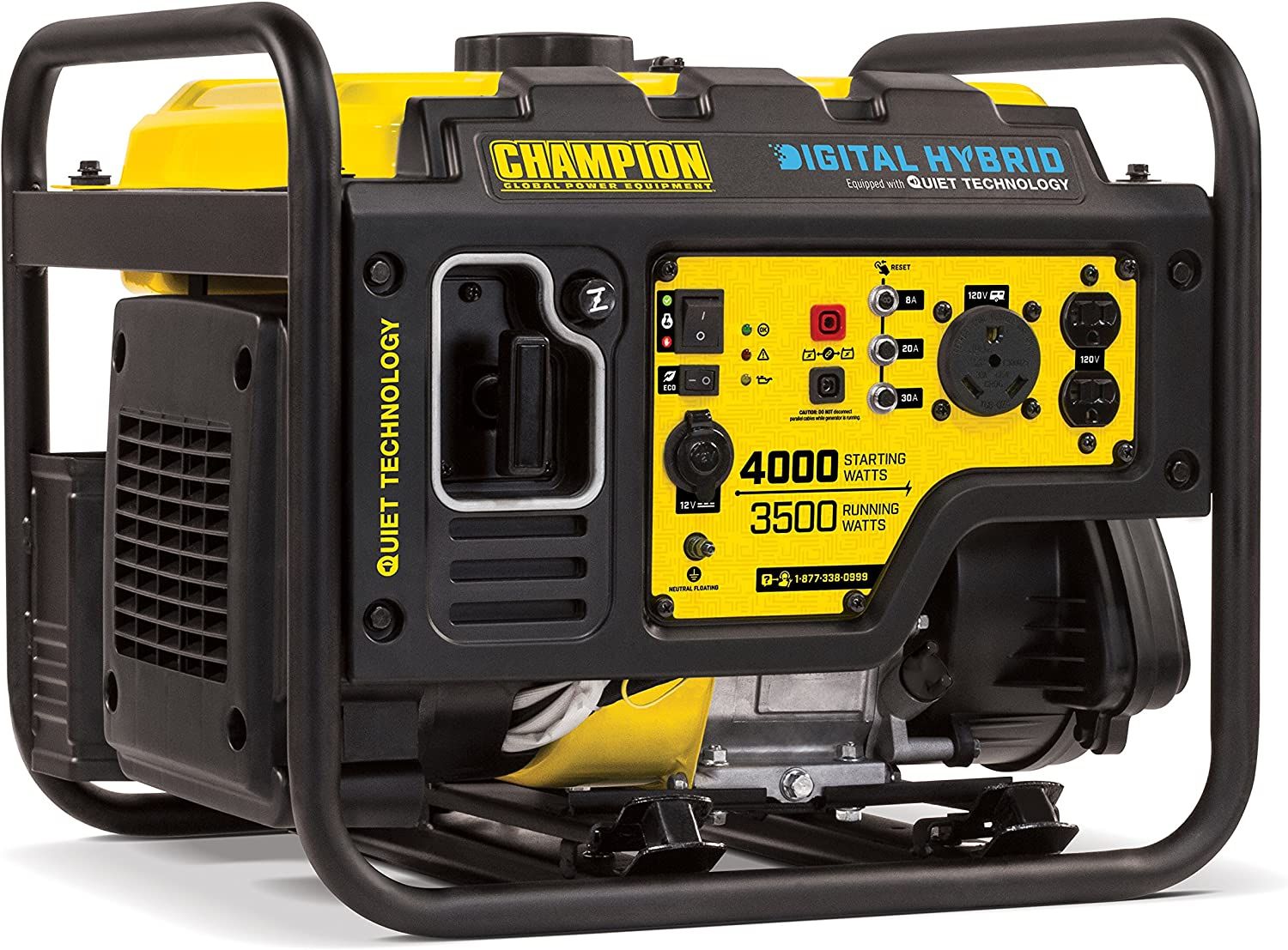 Champion 4000-Watt RV Ready DH Series Open Frame Inverter with Quiet Technology