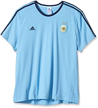 info for c4b3f 378ec adidas Men's T-Shirt Argentina AFA with Lionel Messi blue ...