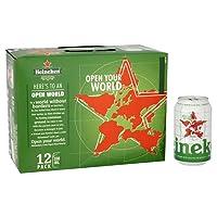 Heineken Lager Beer, 12 x 330ml Cans