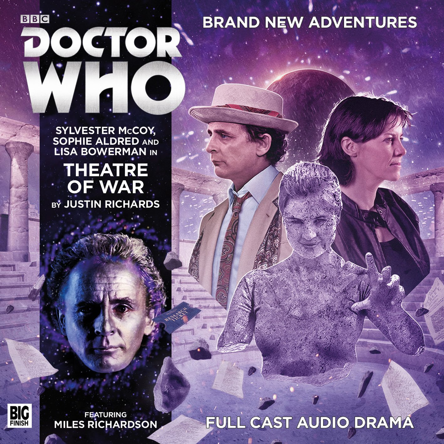 Read Online Theatre of War (Doctor Who Novel Adaptions) pdf epub