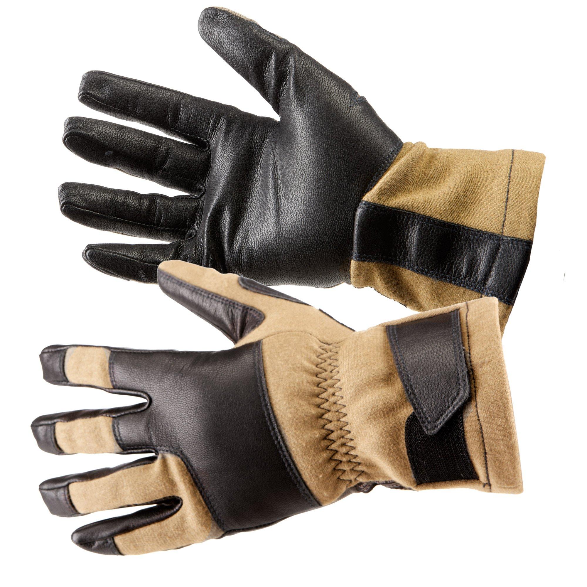 5.11 Tactical 59361 Tac NFOE2 Flight Glove, Tan, Medium