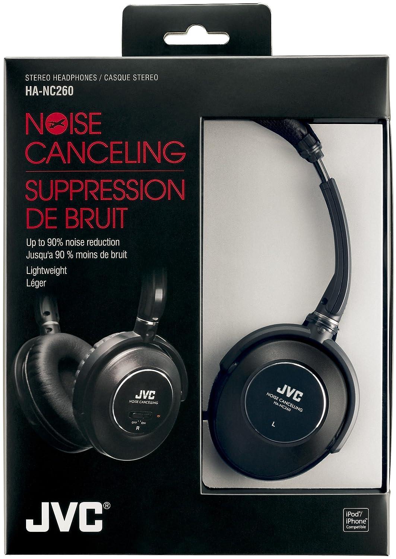 Amazoncom Jvc Ha Nc260 Noise Cancelling Headphones Black Home