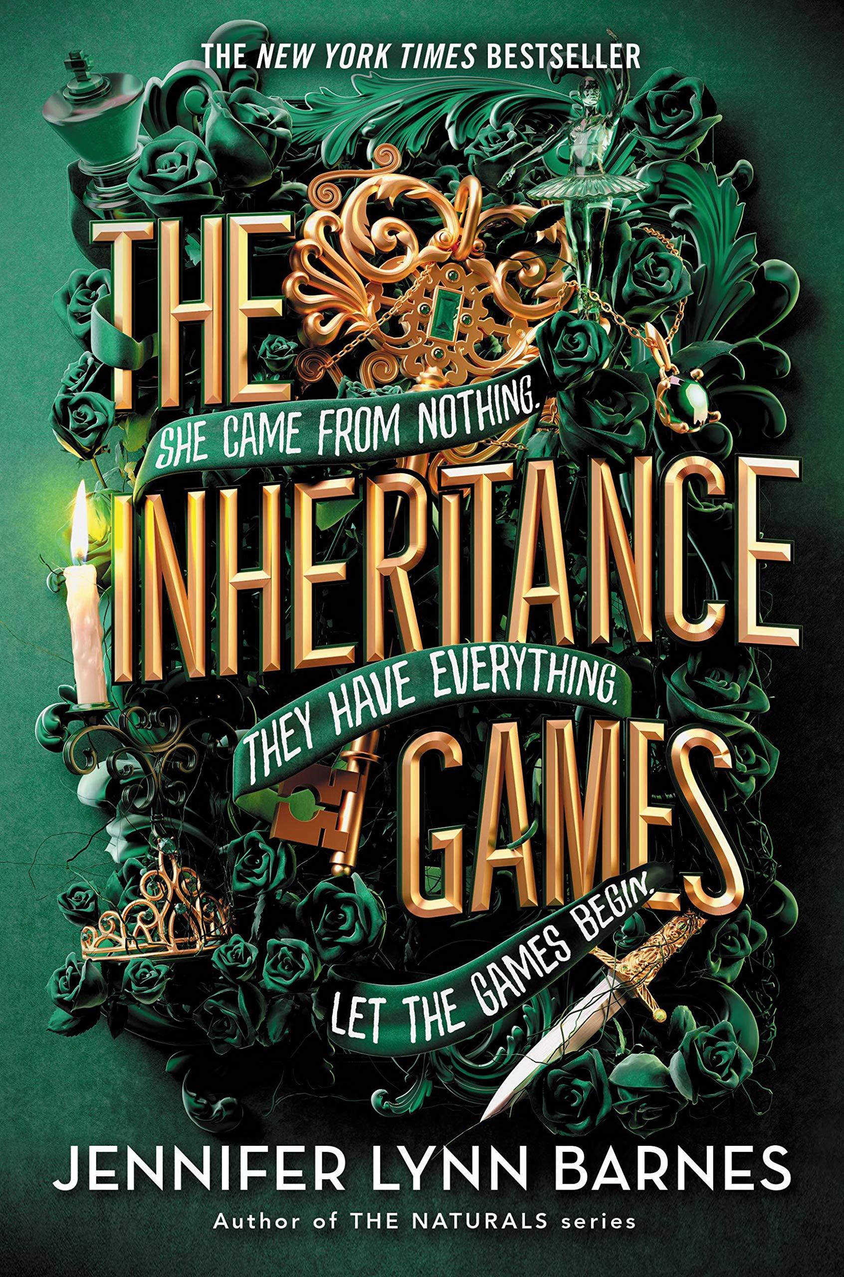Amazon.com: The Inheritance Games (9781368052405): Barnes, Jennifer Lynn:  Books