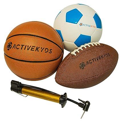 Active Kyds - Juego de Pelotas de fútbol, balón de fútbol y ...