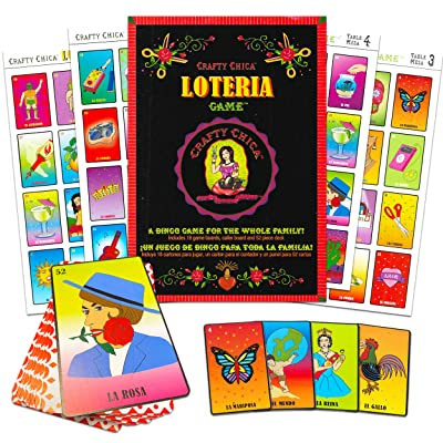 Neotech Booginhead 25765 Crafty Chica Loteria Game: Toys & Games
