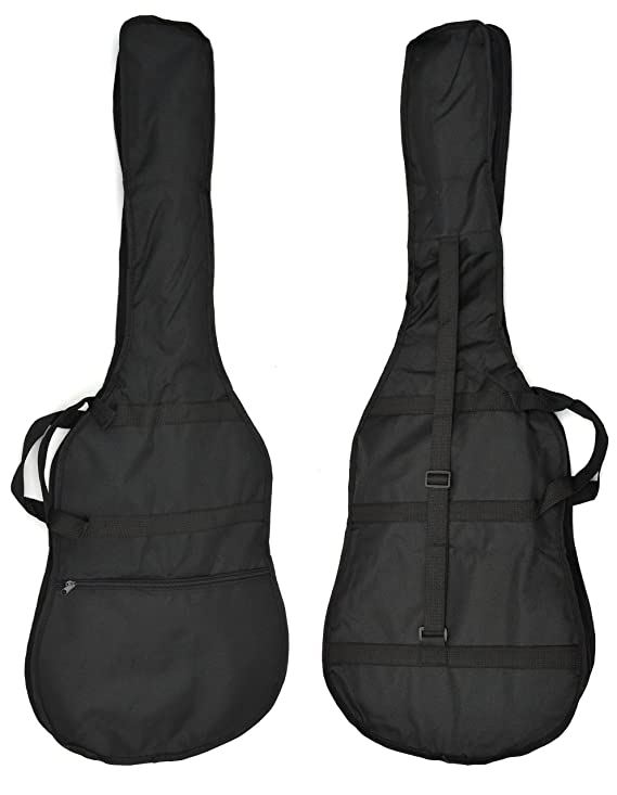 ts-ideen 5235 E-Gitarre Elektrogitarre in Schwarz mit Tasche ...
