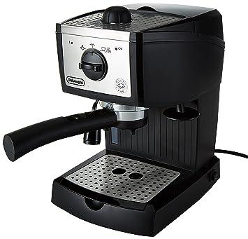 B Cafetera automática independiente, 1100 W, 1 L, 15 bares, de plástico, Negro, Metálico: Amazon.es: Hogar
