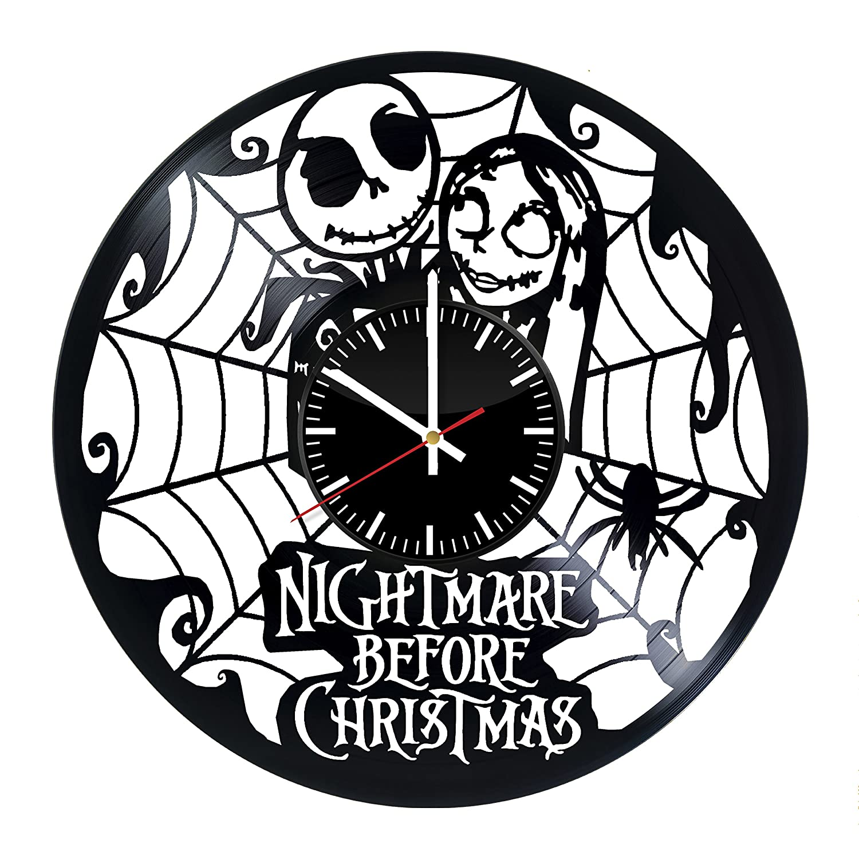 Amazon.com: The Nightmare Before Christmas Vinyl Clock - Vinyl ...