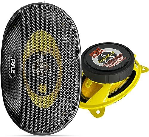 Pyle Gear PLG46.3 Three-Way Car Speaker System - 2 Speaker Set