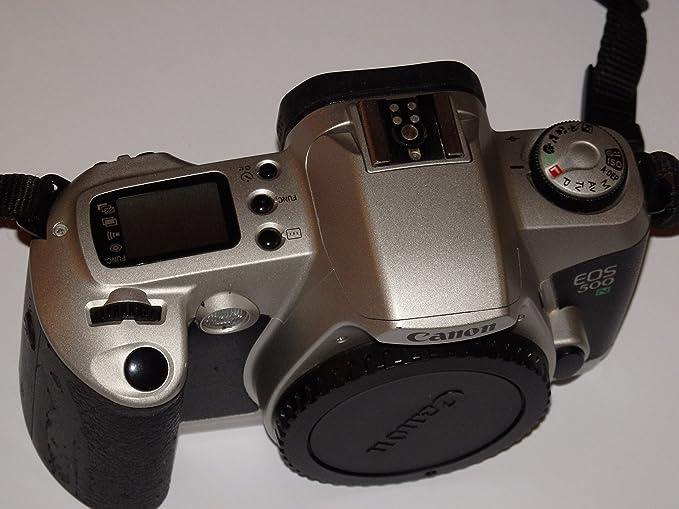 Canon EOS 500 N – SLR Cámara – Color Plata/Negro – Cámara Réflex ...