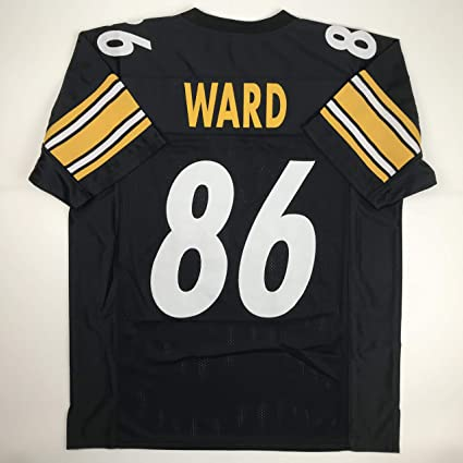 d11e850e6e4 Unsigned Hines Ward Pittsburgh Black Custom Stitched Football Jersey Size  Men's XL New No Brands/