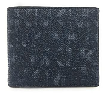 29beaddfd75b Image Unavailable. Image not available for. Color: Michael Kors Jet Set  Mens Billfold Wallet (Baltic Blue)