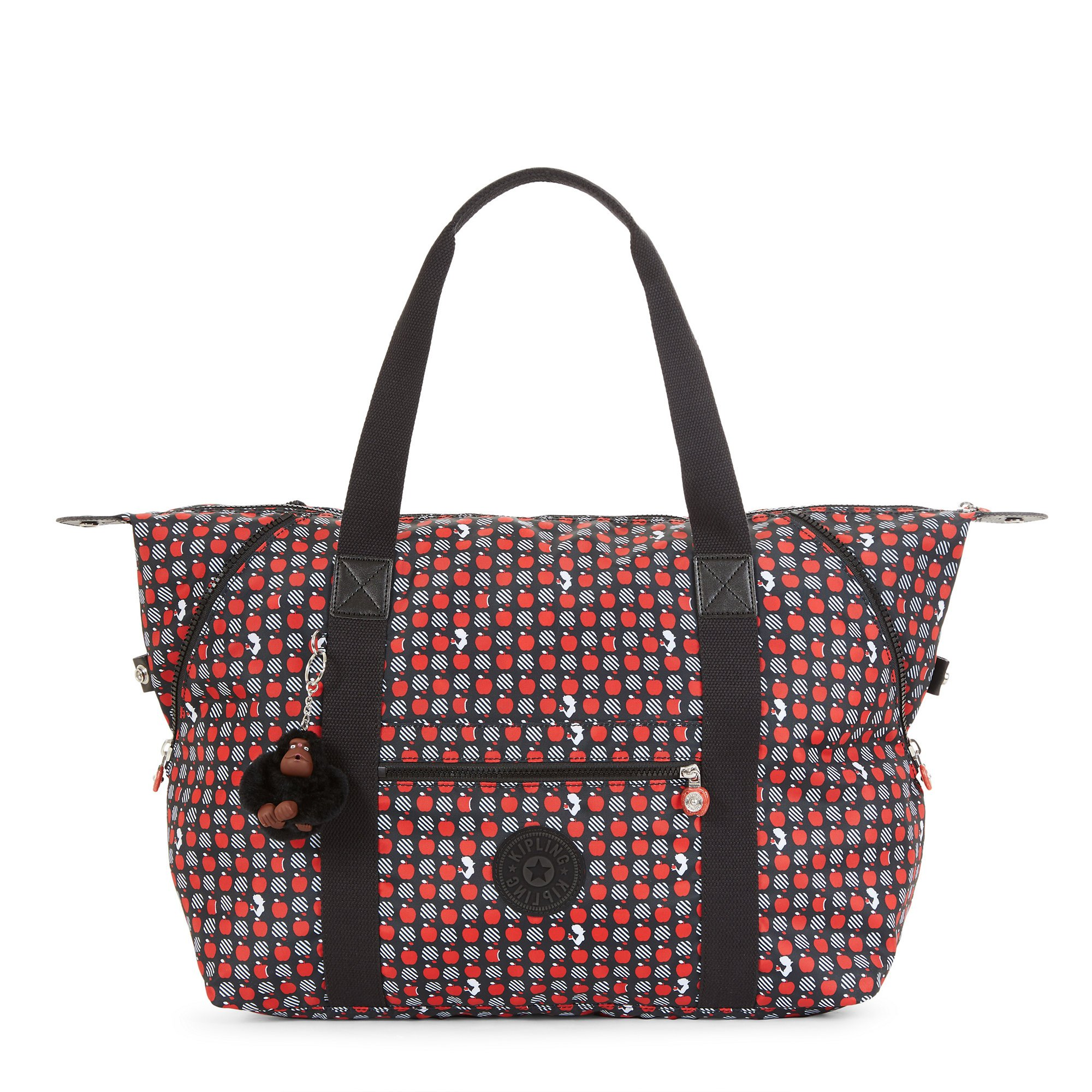 Kipling Disney Snow White Collection Printed Art M Tote, Hypnotic Apple by Kipling