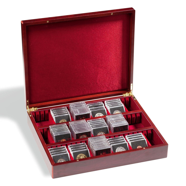 Leuchtturm 339637 VOLTERRA Vario 3 Sammelkassette | Aufbewahrungs-Box für Orden, Taschenuhren, Ü-Ei-Figuren, Münzen u.v.m. | Fachbreite 60 mm