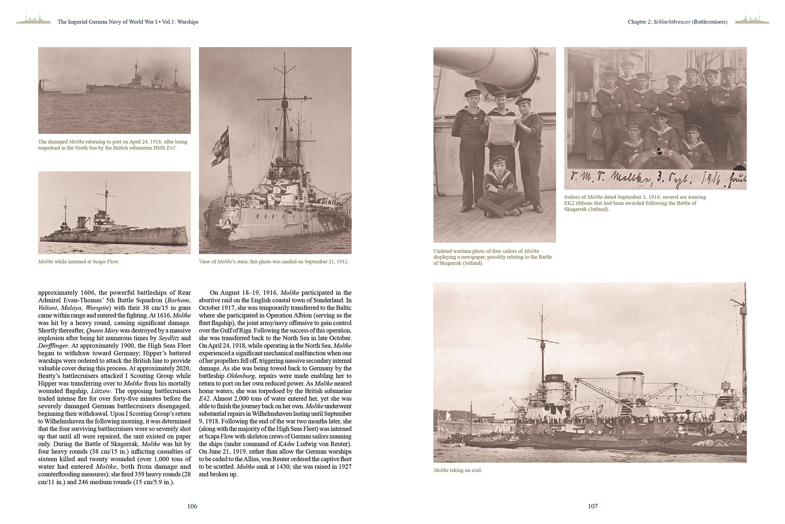 Imperial German Navy of World War I -- Volume 1 Warships: A ...
