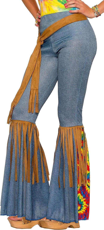 Forum Novelties Women's Hippie Costume Bell Bottoms: Clothing