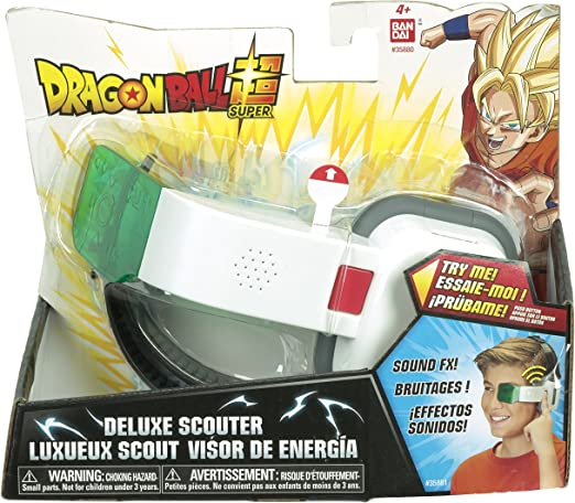 Dragon Ball SFX Deluxe Scouter, Green Lens: Amazon.es: Juguetes y ...